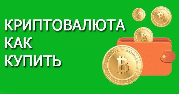 Как купить криптовалюту новичку