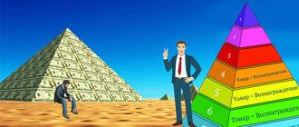 отличие финансовой пирамиды от сетевого маркетинга